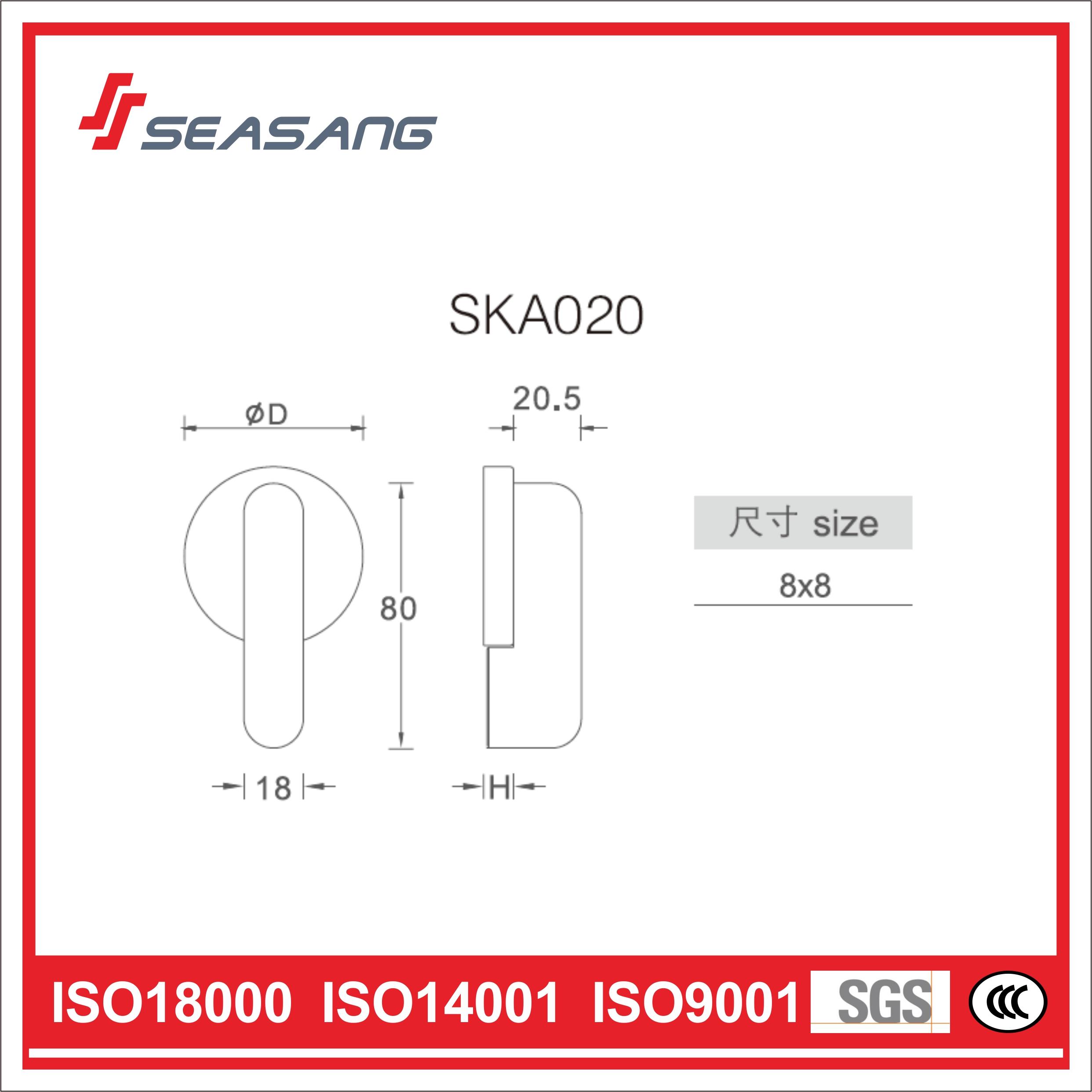 Stainless Steel Bathroom Handle Ska020