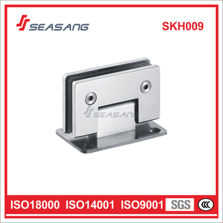 Stainless Steel Door Hinge for Glass to Wall 90 Degree