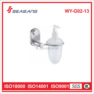 High Quality Soap Dispenser Holder Bathroom Fittings and Accessories for Hotel WY-G02-13