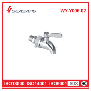 Stainless Steel Wall-Mounted Cold Water Washing Machine Tap