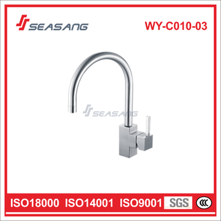 Square Stainless Steel Kitchen Sink and Bar Plumbing Water Faucet WY-C010-03