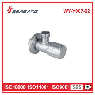 Bathroom Lavatory Stainless Steel Plumbing Control Water Angle Valve
