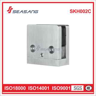 Seasang Hardware Stainless Steel Door Accessory Glass Holder Skh002c