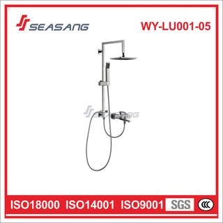 Stainless Steel Bathroom Rainfall Hand Shower Set with Watermark Certificate
