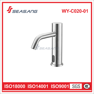 Bathroom Basin Infrared Sensor Faucet Induction Mixer Tap