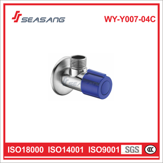 Manual Stainless Steel Plumbing Control Cold Water Angle Valve