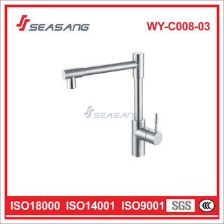 Stainless Steel Kitchen Cabinet Sink Water Faucet WY-C008-03
